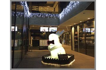 Luzクリスマス装飾ウサギ
